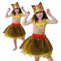 Owl Girl Costume