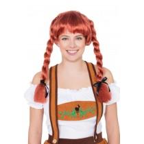 Fraulein Pigtail Wig (Auburn)