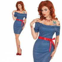 Retro Betty (Blue Dress)