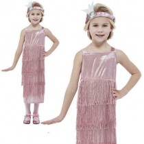 20s Pink Flapper Costume