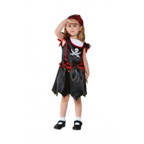 Toddler Pirate Skull & Crossbones Costume