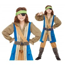 Horrible Histories Pirate Captain Costume
