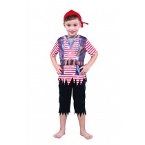 Pirate Boy Sublimation Print - Medium