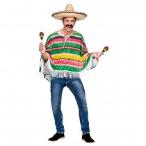 Adult Mexican Bandit Poncho