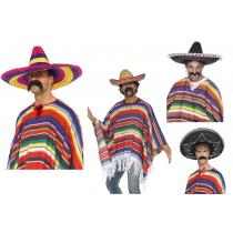 Sombrero + Poncho