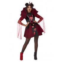 Queen of Broken Hearts Costume, Red
