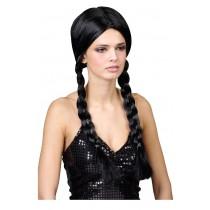 Black School Girl Wig