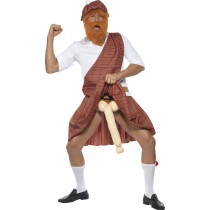 Scottish Comedy Highlander Costume