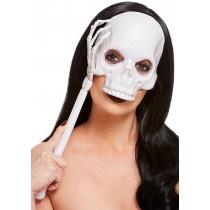 Handheld Skull Mask