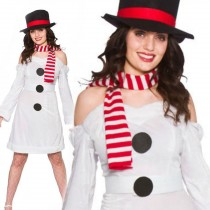 Sweet Snowman Ladies Costume