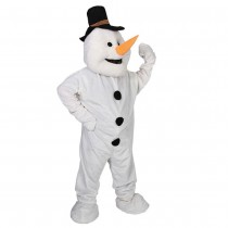 Deluxe Snowman Mascot (Fancy Dress)