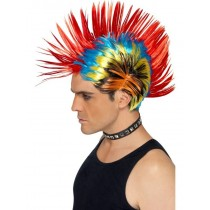 80's Multi Wig Mohawk