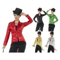 Ladies Tailcoat Sequin Jacket
