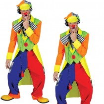 Clown Tailcoat + Trousers