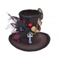 Steampunk Mini Tall Top Hat