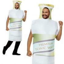 Tonic Bottle Costume, White