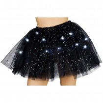 Light Up Sparkle Tutu - Black