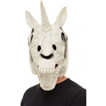 Unicorn Skull Latex Mask