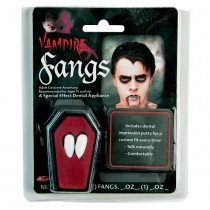 Vampire Fangs Plastic