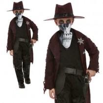Deluxe Dark Spirit Western Cowboy Costume