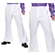 70's Disco Flares - White