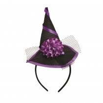 Witch Hat Mini On Headband