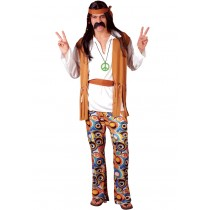 Adult Woodstock Hippie Costume