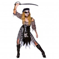 Zombie Cutthroat Pirate (Fancy Dress)