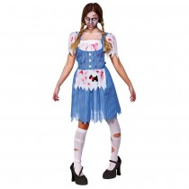 Zombie Country Girl (Fancy Dress)