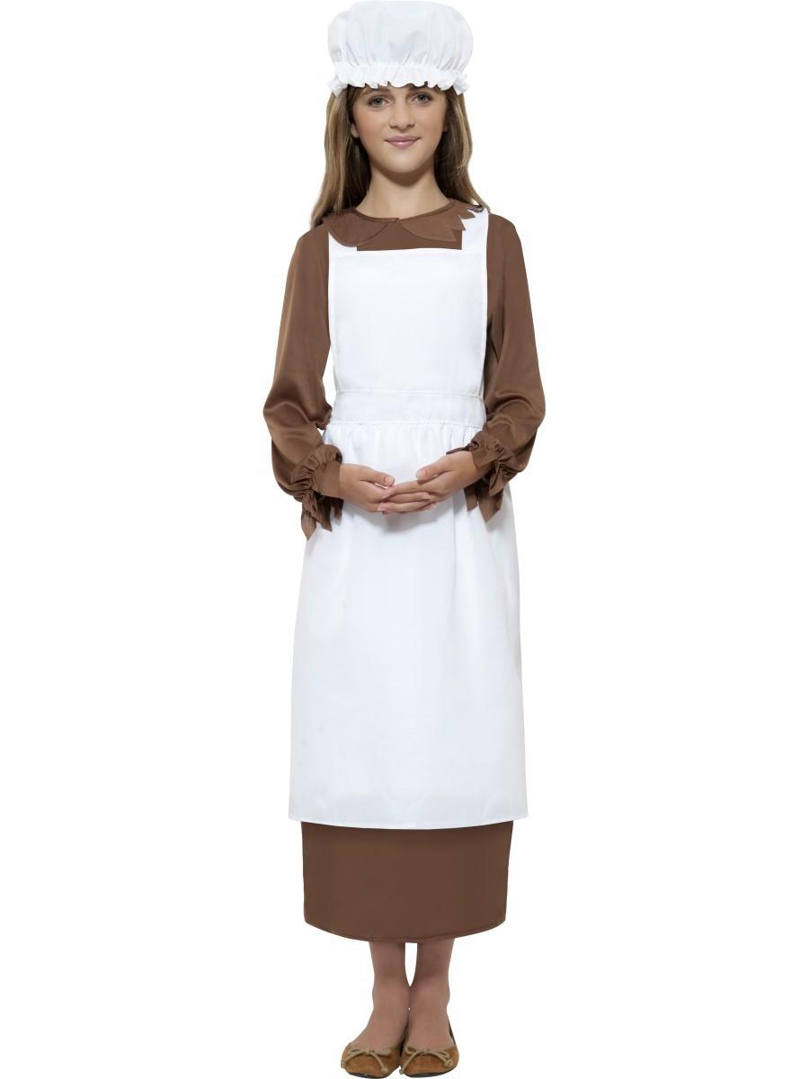Victorian Poor Girl Girls Book Week School Fancy Dress Costume-2846
