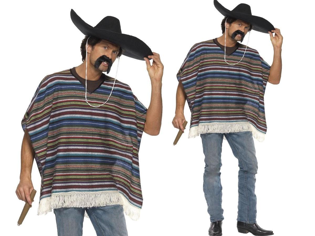 Mexican Moustache Bandit Cowboy Wild West Fancy Dress Accessory