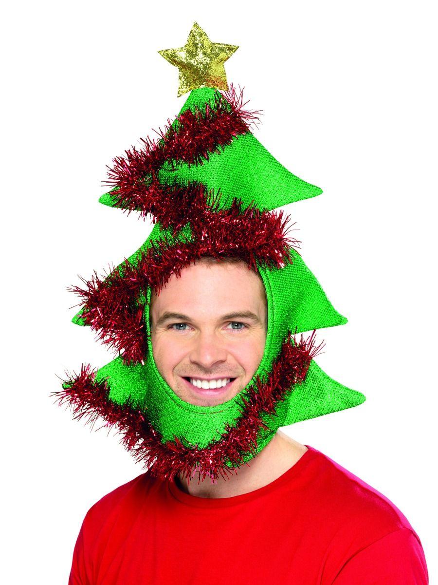 Novelty Christmas Tree Hat Kingdom Fancy Dress